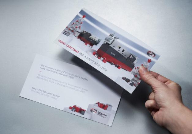 Extricom_Printprodukte_Weihnachtskarte