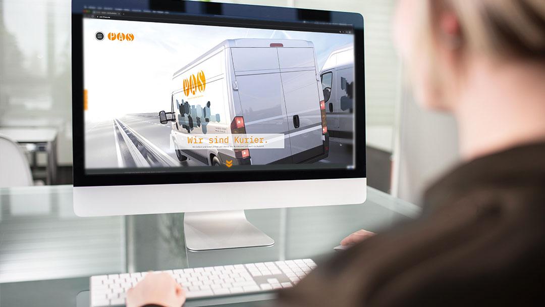 Neuer Webauftritt P.A.S. Boten- und Kurierdienst