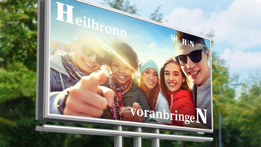 Kampagne der Stadt Heilbronn