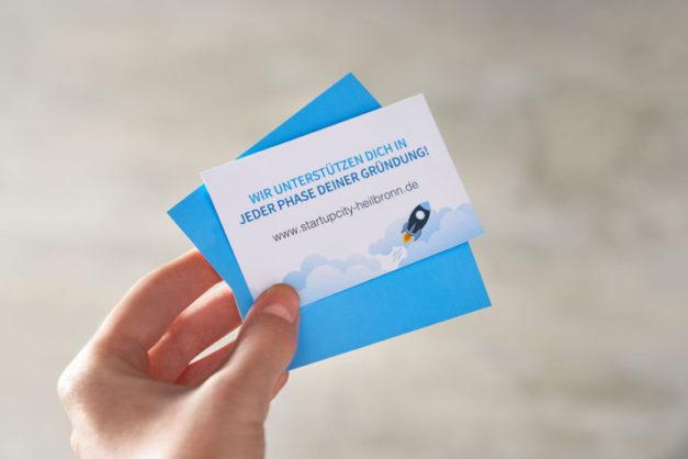 StartUpCity_Heilbronn_Printprodukte_Visitenkarte