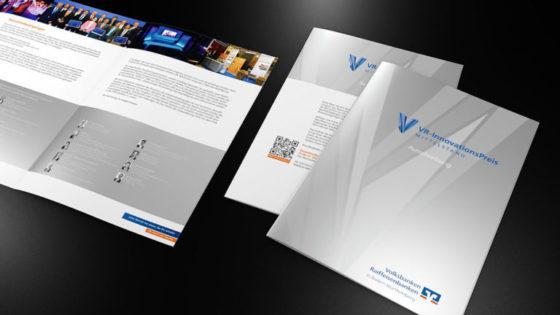 Preisträgermotive und Broschüren <br> VR Innovationspreis