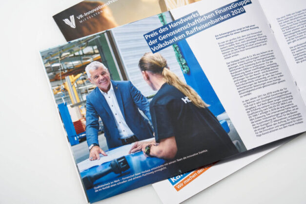 BWGV VR Innovationspreis 2020 Printprodukte_Broschuere Hodapp