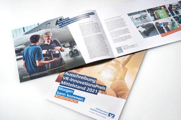 BWGV VR Innovationspreis 2020 Printprodukte_Broschuere offen