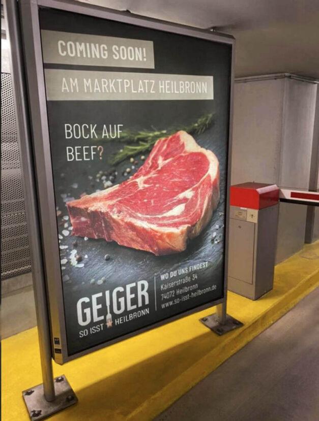 Displaywerbung_Geiger so isst Heilbronn