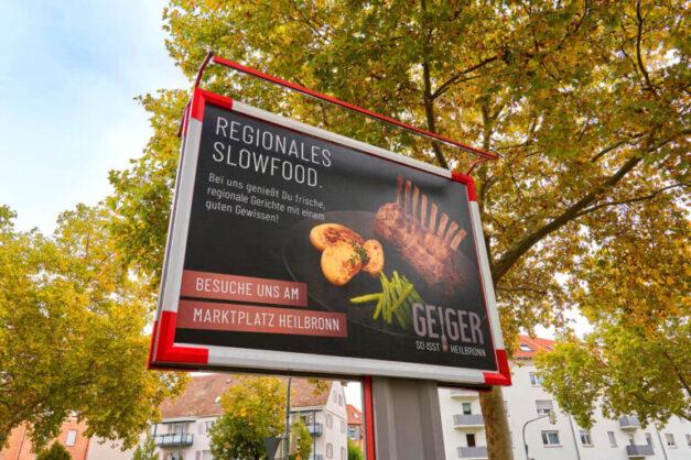 Grossflaechenplakate2_Geiger so isst Heilbronn