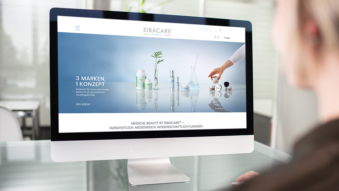 SIBACARE Web­shop